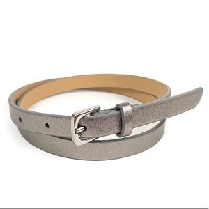 Jones New York Silver Belt Small